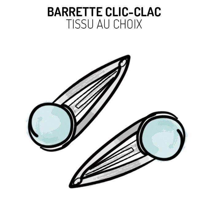 Barrettes clic-clac Liberty au choix