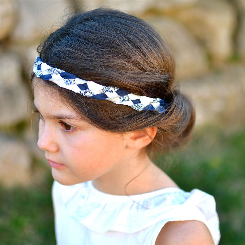 Headband Liberty Katie and millie bleu