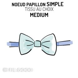 Nœud papillon simple MEDIUM