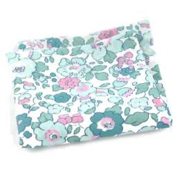 Pochette de costume Liberty Betsy mint FIL GOOD Made in France