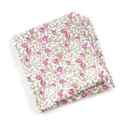 Pochette de costume Liberty Eloise rose FIL GOOD Made in France