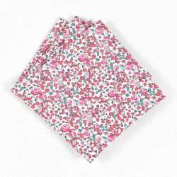 Pochette de costume Liberty Eloise rose pastel FIL GOOD Made in France