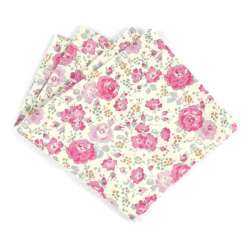 Pochette de costume Liberty Felicite japonais jardin de roses FIL GOOD Made in France