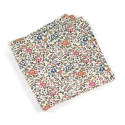Pochette de costume Liberty Katie and millie bistre FIL GOOD Made in France