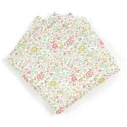 Pochette de costume Liberty Katie and millie pastel FIL GOOD Made in France
