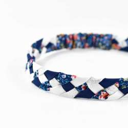 Headband LIBERTY Phoebe and Jo A FIL GOOD Made in France
