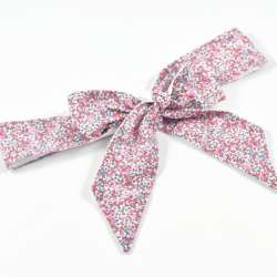 Ceinture LIBERTY Eloise rose pastel robe cérémonie FIL GOOD Made in France