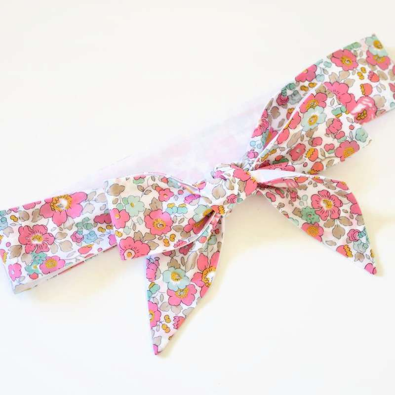 Ceinture LIBERTY Betsy cupcake robe cérémonie FIL GOOD Made in France