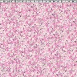 Liberty Mitsi Valeria orchidée rose