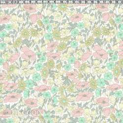 Liberty Poppy and Daisy pastel