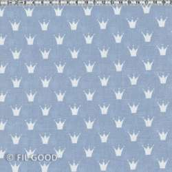 Bleu couronnes