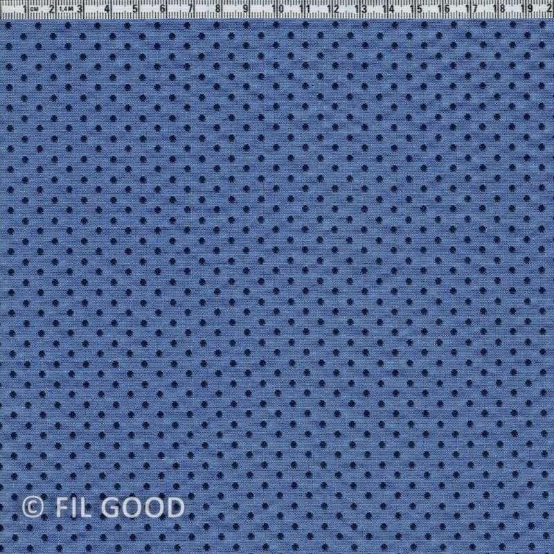 Bleu pois marine