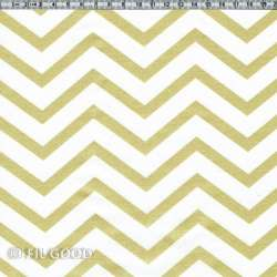 Chevrons blancs or