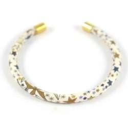 Bracelet jonc Liberty Adelajda beige