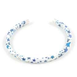 Bracelet jonc Liberty Adelajda bleu turquoise