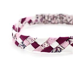 Headband Liberty Adelajda prune