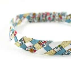 Headband Liberty Betsy Ann porcelaine