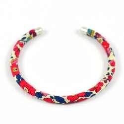 Bracelet jonc Liberty Betsy Ann rouge