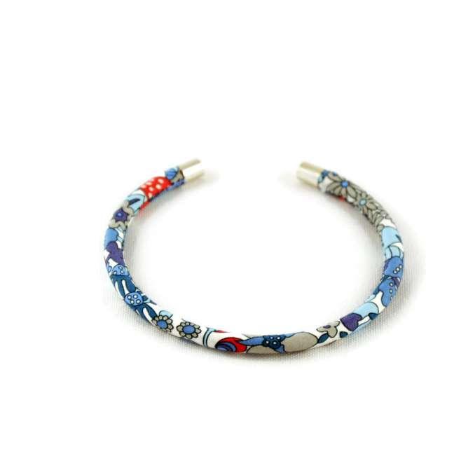 Bracelet jonc Liberty Flower tops sur mesure