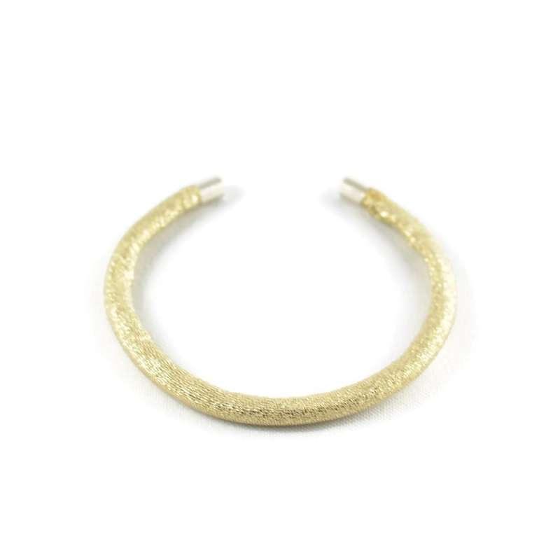 Bracelet jonc doré / or