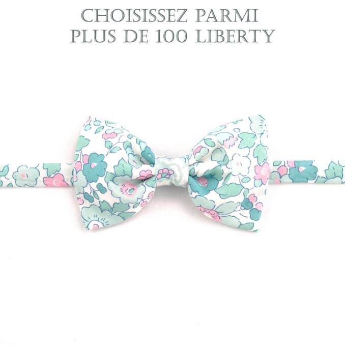 Noeud papillon Liberty Betsy mint